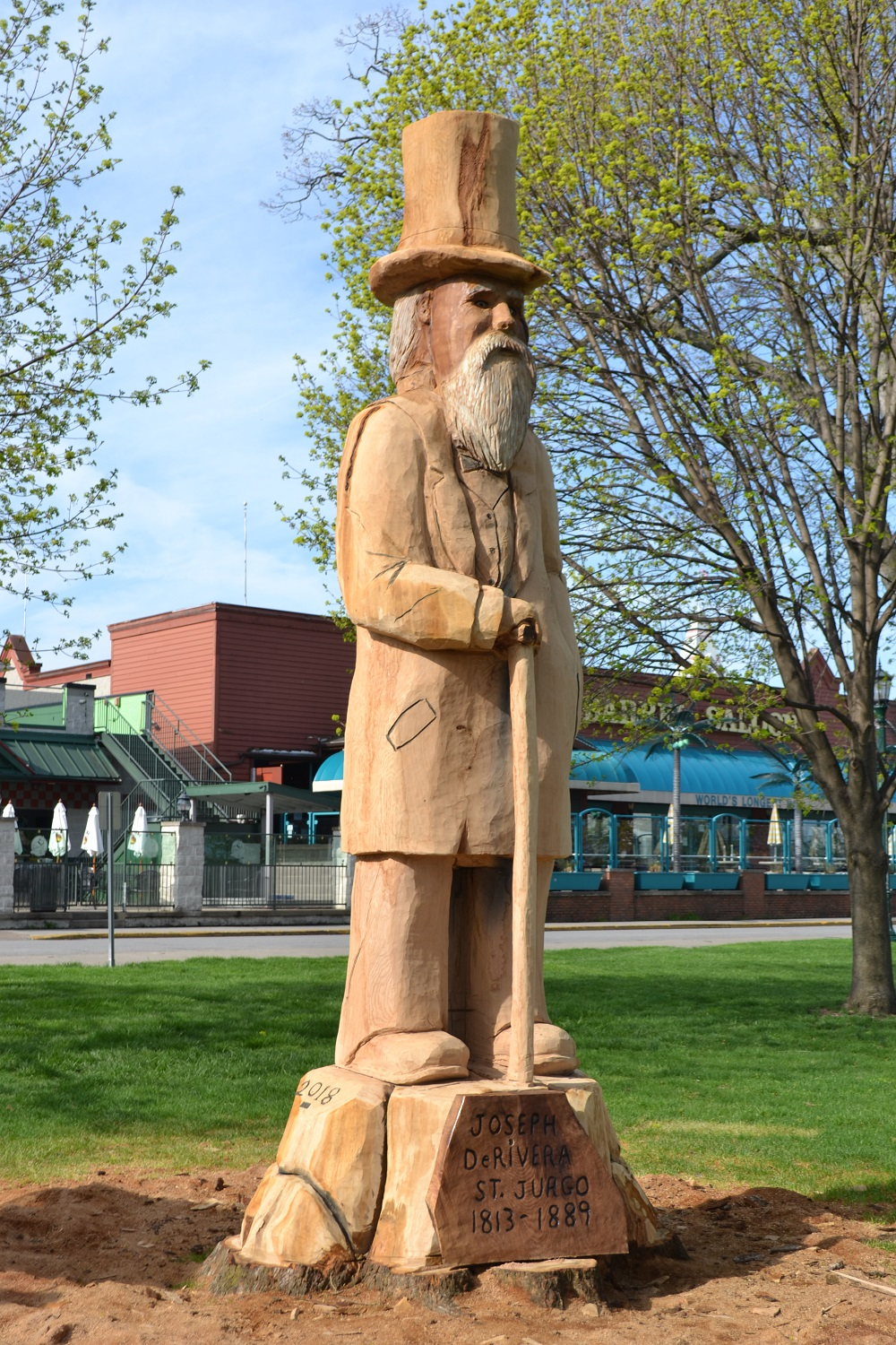 Put-in-Bay Tree Carving
