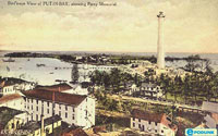 Put-in-Bay History Picture of downtown Put-in-Bay