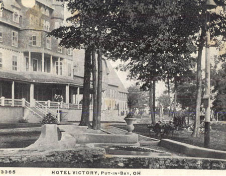 Put-in-Bay History photo of the Victory Hotel